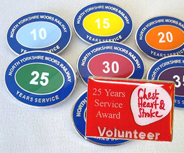 Enamel Badges with OverPrinting