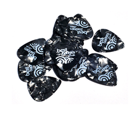 Printed Celluloid guitar picks