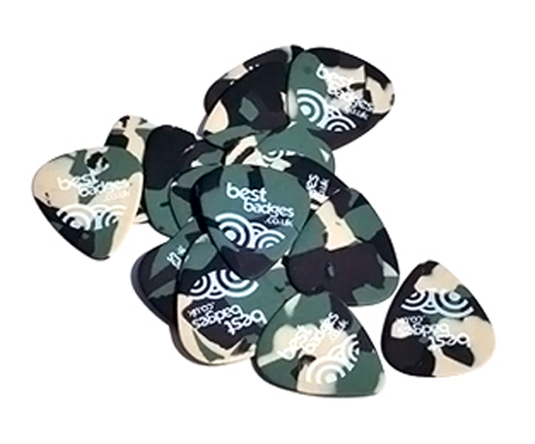 Camo (Tortex) guitar picks