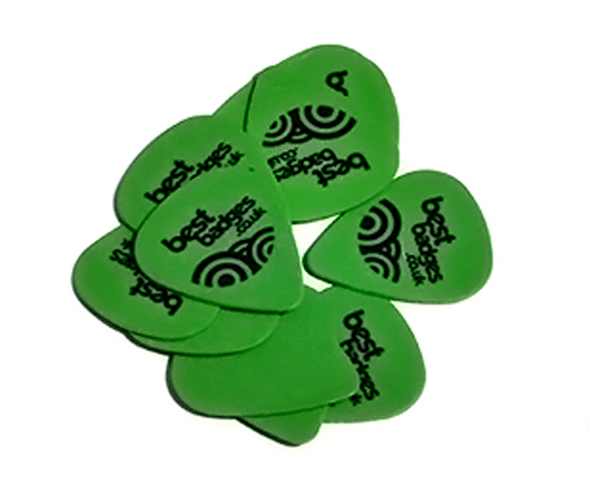 Printed Tortex guitar picks