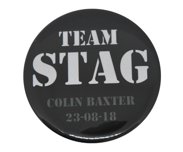 Team stag badges